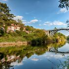 River Severn IronBridge by Adrian Evans