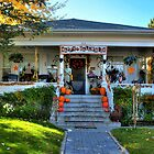 Decorated Halloween House In Prescott Arizona by Diana Graves Photography
