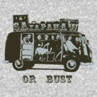 Saxapahaw Or Bust! by ONE WORLD by High Street Design