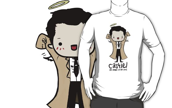 Castiel - Angel of the Lord by sleepyfortress