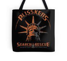 Snake Plissken's  Search & Rescue Pty Ltd Tote Bag