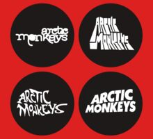 Arctic Monkeys - Four Logos by livinthing