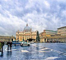 Basilica Papale di San Pietro in Vaticano by Mark Tisdale