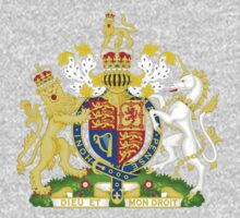 Royal Coat of Arms of the United Kingdom by cadellin