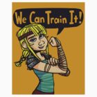 We Can Train It! (Sticker) by Crownflame