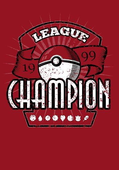Pokemon League Champion by sponzar