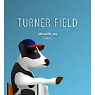Minimalist Turner Field - Atlanta by pootpoot