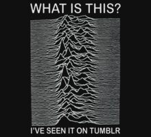 Joy Division What is This I've Seen it on Tumblr shirt by Hollywise