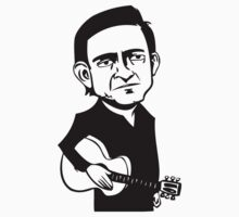 Johnny Cash Guitar by znojc