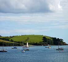 Helford River, Cornwall by Ludwig Wagner