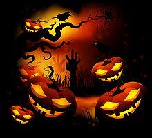 Halloween Pumpkins by Olga Altunina