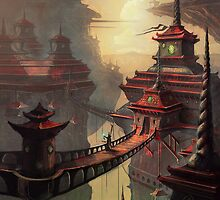 High Mountain Temples by CarloReynolds