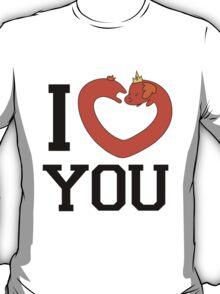"Hot Dog Princess ""I Heart You"" T-Shirt"