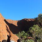 Uluru - near the waterhole by gaylene