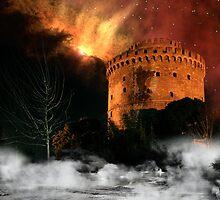 Design Future: Thessaloniki's destruction by V-Light