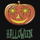 A Pumpkin Halloween T-shirt by Dennis Melling