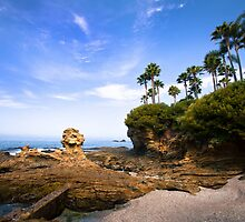 Summer day at Laguna Beach by Sviatlana Kandybovich
