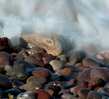 Rocks at Mill Shore, Aberdeenshire by Copperhobnob