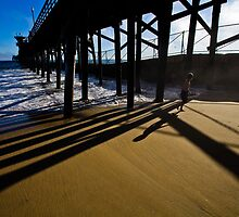 Summer evening in Seal Beach by Sviatlana Kandybovich