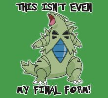 Not Even Tyranitar's Final Form by Phox