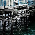 Pier Section Blue by jjbentley