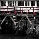 Pier Section Red by jjbentley