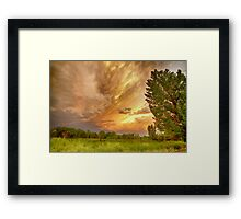 Abyss In the Sky Framed Print