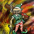 Disgruntled Elf by Ellen Marcus