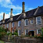 Vicars Close, Wells by Paula J James