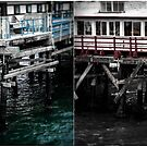 Pier Sections Blue & Red by jjbentley
