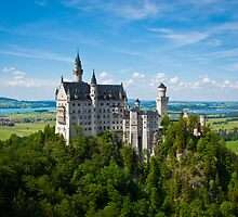 Neuschwanstein Castle by Jane M.