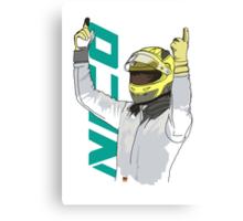 Nico Rosberg Canvas Print