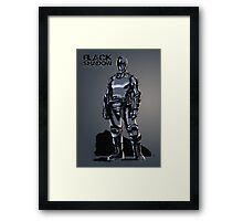 Black Shadow (Alternate Sketch) - Based on a Podcast Novel by Steve Saylor Framed Print