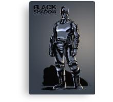 Black Shadow (Alternate Sketch) - Based on a Podcast Novel by Steve Saylor Canvas Print