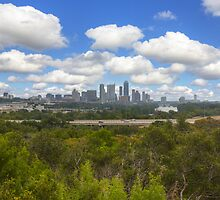 Austin Images - the Austin Skyline on a September Afternoon by RobGreebonPhoto