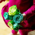 roses are.... green?! by Sigita Playdon