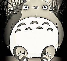 Totoro  by GiraffesAreCool
