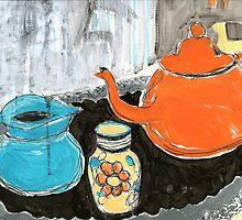 studio tea 1 by HelenAmyes