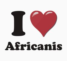 I Heart Africanis by HighDesign