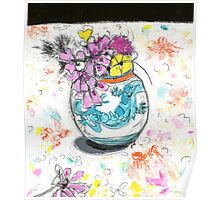 cornish vase 1 Poster