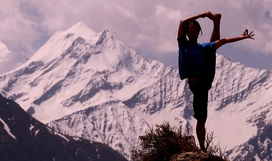 Yoga pose, Dolpo by LeighBlake