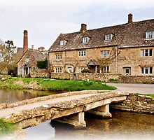 The Mill  Lower Slaughter  Cotswolds  UK by James  Key