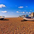 Aldeburgh Beach  Suffolk  by James  Key