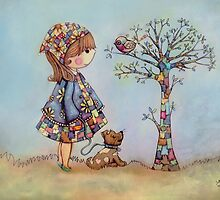 The Patchwork Tree by © Karin  Taylor