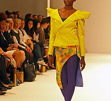 2013 FAD Junior Awards. A model wears a design by Gloria Lyare by Keith Larby