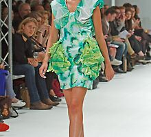 2013 FAD Junior Awards. A model wears a design by Nhung Le Thi Hong by Keith Larby