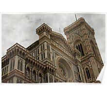 Basilica Santa Maria del Fiore, Florence, Italy Poster