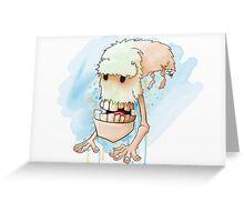 The Himalayan Slackjaw Greeting Card