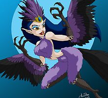 Celebrate Monster Girls - The Harpy by ArcadianPhoenix