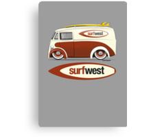 SurfWest Austin Surf Van Canvas Print